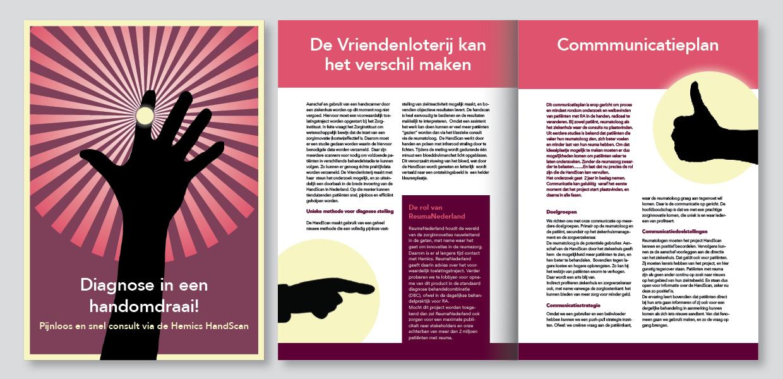 Brochure Reuma Nederland